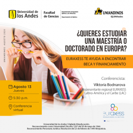 Image of (550270) Do you want to study a masters or doctorate in Europe? EURAXESS is here to help!