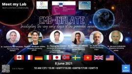 Image of (622072) [Meet my Lab] CMB Inflate : Contributing to the understanding of the origins of Universe and more specifically the physics of the INFLATION phase