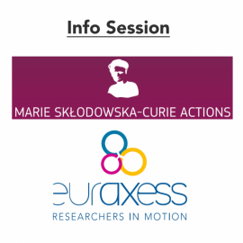 EURAXESS MSCA info session graphic
