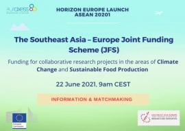 Image of (651561) 7th Call of the Southeast Asia - Europe Joint Funding Scheme (JFS)