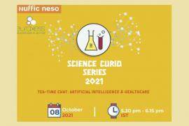 Image of (690812) Science Curio Webinar Series - Session 3: Artificial Intelligence and Healthcare - FRANCE