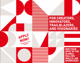 Image of (543249) Falling Walls Lab Mexico 2020, a competition in partnership with EURAXESS