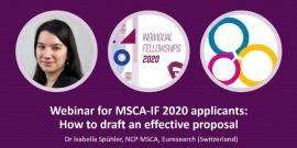 Image of (534274) How to Write a Successful Proposal for MSCA IF