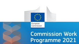 Image of (570261) 2021 Commission work programme – from strategy to delivery