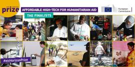 Image of (534824) Twelve finalists in the running for the EIC Horizon Prize for Affordable High-Tech for Humanitarian Aid