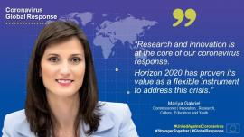 Image of (534215) European Commission updates Horizon 2020 Work Programme to support coronavirus research and innovation