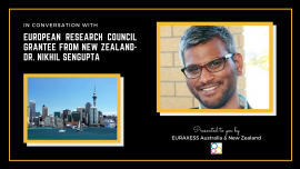 Image of (609010) Interview with European Research Council Starting Grant 2020 Recipient Dr Nikhil Sengupta