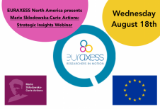 EURAXESS North America MSCA Practical Session webinar graphic