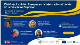 Image of (558188) Webinar: The European Union and the Internationalization of Higher Education