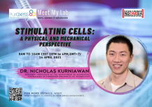 Image of (619922) 'Meet My Lab' - Stimulating cells – a physical and mechanical perspective (Dr N Kurniawan, TU Eindhoven, NL)