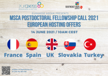 Image of (643816) MSCA Postdoctoral Fellowship Call 2021 - European Hosting Offers (Part 2)