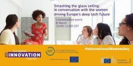 Image of (612098) Online event - Smashing the glass ceiling: in conversation with the women driving Europe's deep tech future