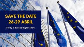 Image of (630825) Study in Europe Digital Show taking place in Brazil - 26-29 April 2021 (with EURAXESS presentation for PhD in Europe!)